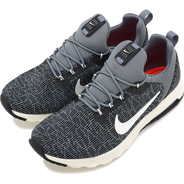 NIKE Nike sneakers Lady's WMNS AIR MAX MOTION RACER women Air Max motion racer black sail cool gray (916,786 001 FW17)
