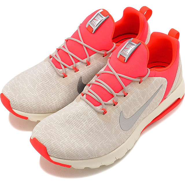 NIKE Nike sneakers shoes Lady's WMNS AIR MAX MOTION RACER women Air Max motion racer L brown chrome S red sail (916,786 100 FW17)