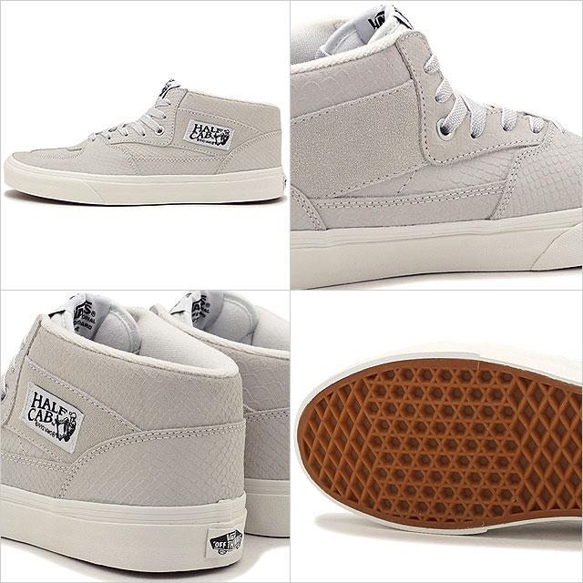 455901fe840b81 VANS vans sneakers shoes men HALF CAB SNAKE half cab snake BLANC DE BLANC  BLANC (VN0A348EOIG FW17)