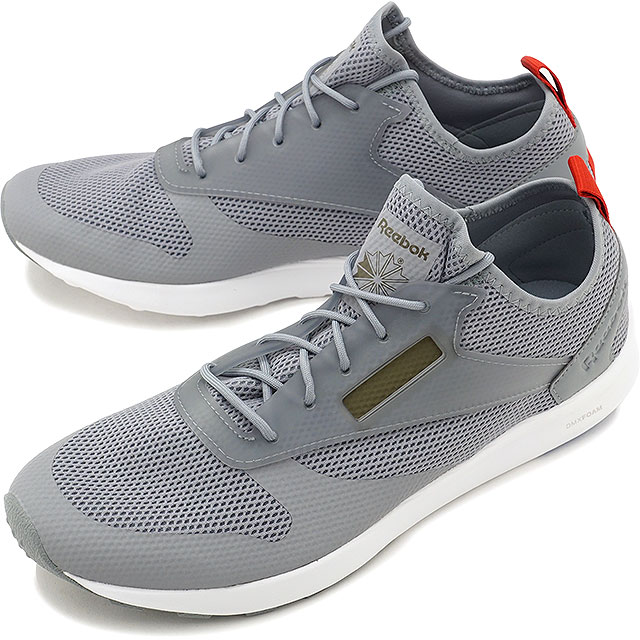 Reebok CLASSIC Reebok classical music sneakers shoes men ZOKU RUNNER HM  ゾクランナー HM F gray   white  A green  V blue  P red (BD5999 FW17) cc3fcd2dc