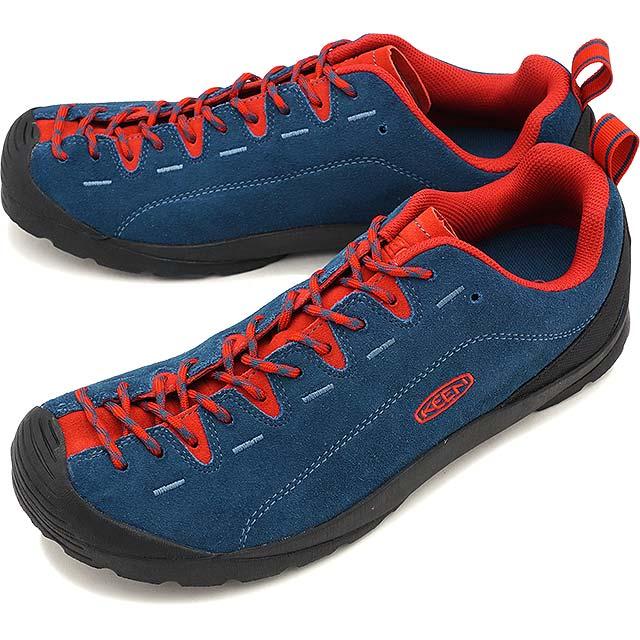 【即納】KEEN キーン スニーカー 靴 メンズ MENS Jasper ジャスパー Legion Blue/True Red (1017351 FW17)【コンビニ受取対応商品】
