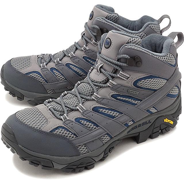 【即納】MERRELL メレル メンズ MENS MOAB 2 MID GORE-TEX モアブ2 ミッド ゴアテックス CASTLEROCK 靴 [06067 FW17]