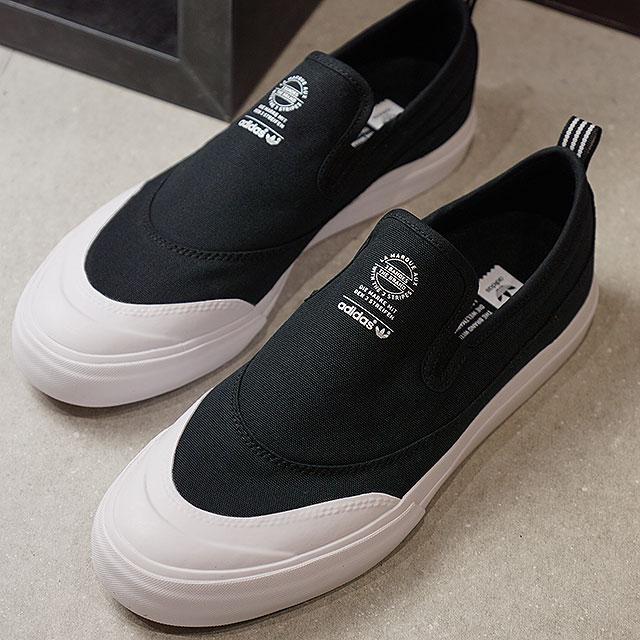 adidas Adidas MATCHCOURT SLIP match coat slip slip-ons Adidas originals  adidas Originals core black / core black /R white shoes (F37387 FW17)