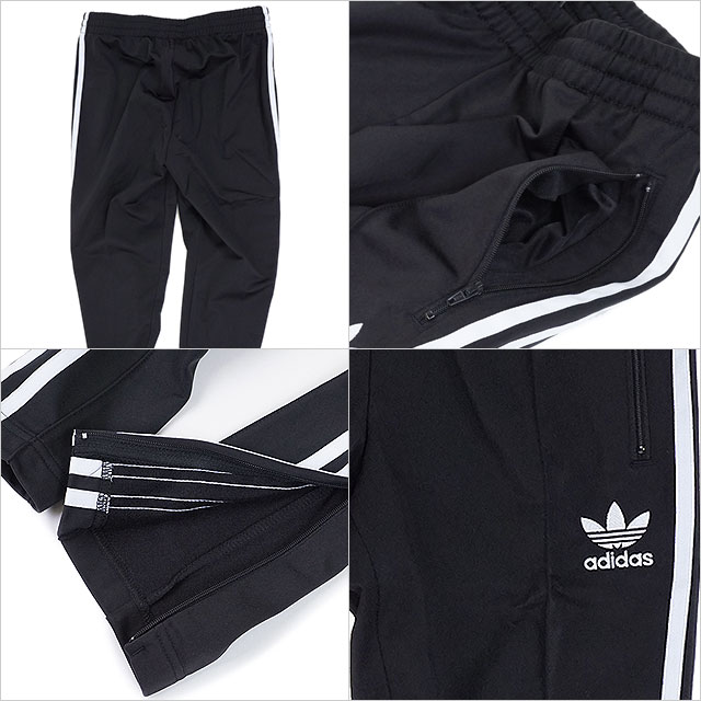adidas Adidas originals apparel Lady's jersey SST TRACK PANTS superstar trackpants Adidas originals adidas Originals [BK0004 FW17]