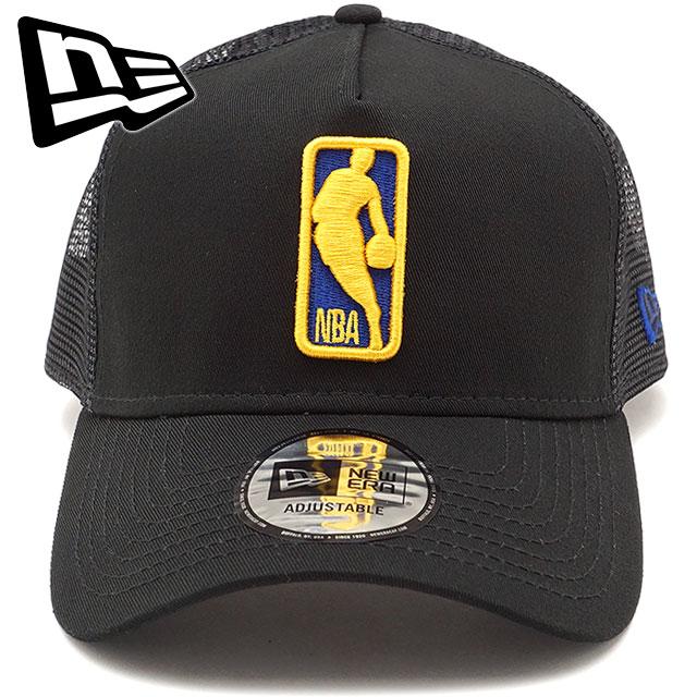 43ebc758ad399f ... NEWERA new gills cap New Era NBA LOGOMAN 9FORTY A-Frame Trucker GOLWAR  logo man ...