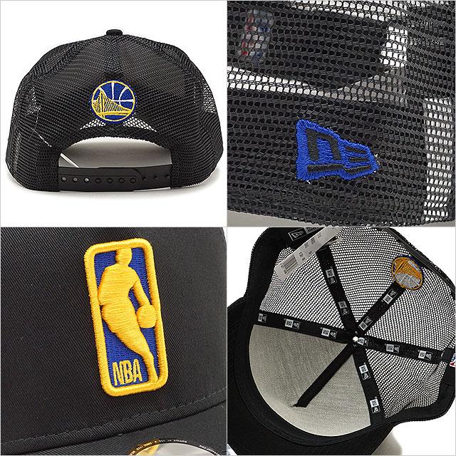 78bedc4ac9f45c ... NEWERA new gills cap New Era NBA LOGOMAN 9FORTY A-Frame Trucker GOLWAR  logo man