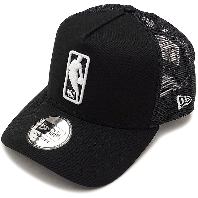 NEWERA new gills cap New Era NBA LOGOMAN 9FORTY A-Frame Trucker NBA logo  man custom A-frame trucker snapback mesh cap baseball cap hat black  S  white ... cf4a8697701