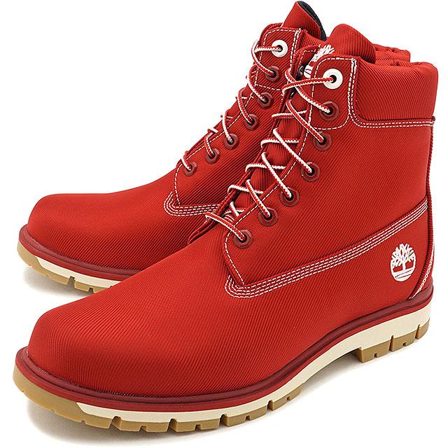 d732f920465 Timberland Timberland men RADFORD Ccanvas Boot Radford canvas boots red  textile (A1M8B FW17)
