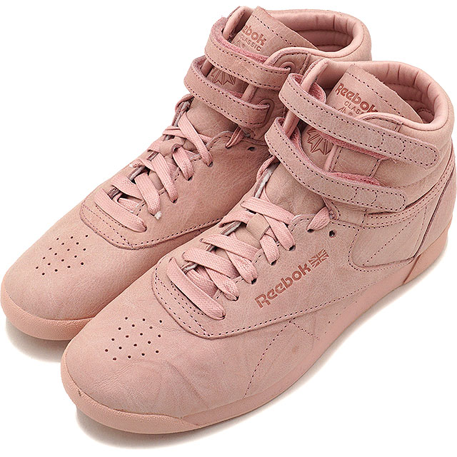 536ff5b958 Reebok CLASSIC Reebok classical music sneakers shoes Lady's F/S HI FBT  (FREE STYLE) free-style high FBT POLISH PINK (BS6279 FW17)