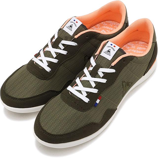cheap for discount fd0eb bfb62 le coq sportif Le Coq Sportif sneakers shoes Lady s SEGUR II WIDE セギュール 2  wide khaki ...