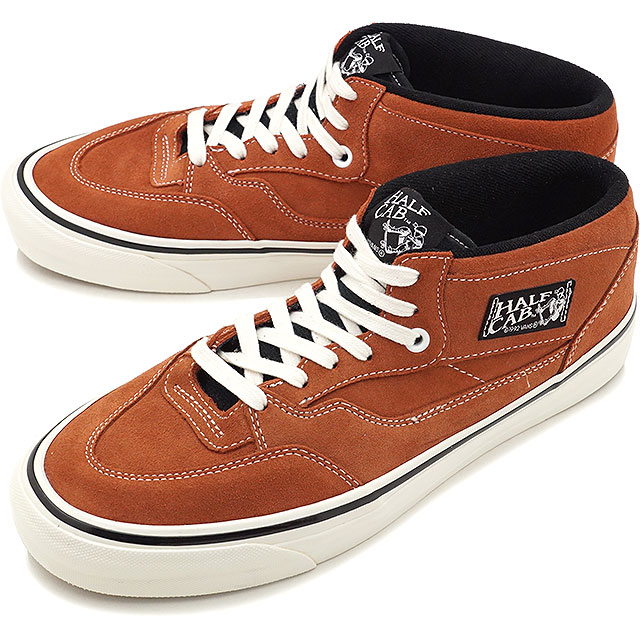 VANS vans sneakers men Lady's HALF CAB 33 DX ANAHEIM FACTORY half cab 33 DX Anaheim factory OG RUST (VN0A3DP3OKE FW17)
