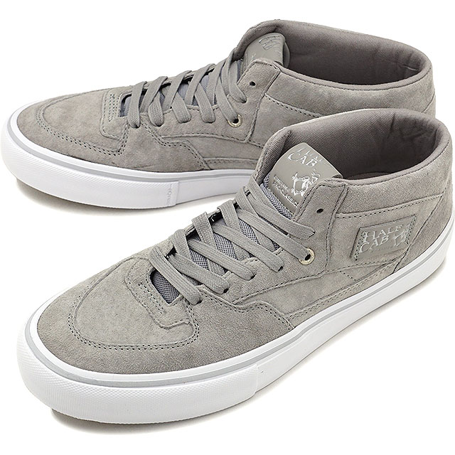 5649272598 Model SILVER (VN0A38CPPHD FW17) of the 25th anniversary of the VANS vans  sneakers shoes men PRO SKATE Pross Kate HALF CAB PRO 25th half cab pro