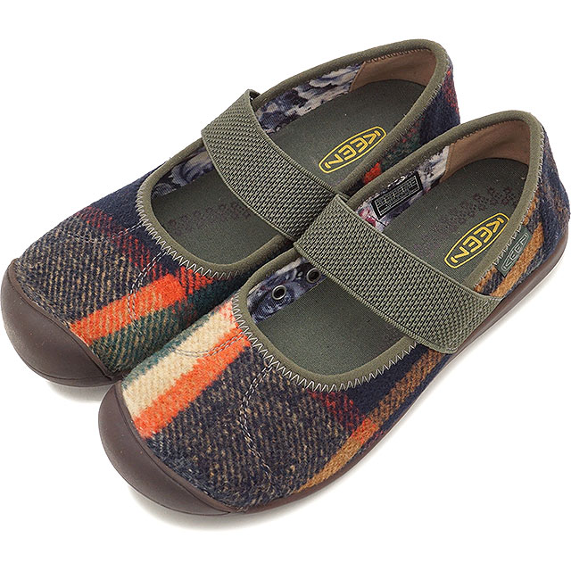 6f306fd6c07 KEEN Kean flattie Lady s WMNS Sienna MJ Wool Siena Mary Jane wool Coffee  Bean Wool shoes (1017988 FW17)