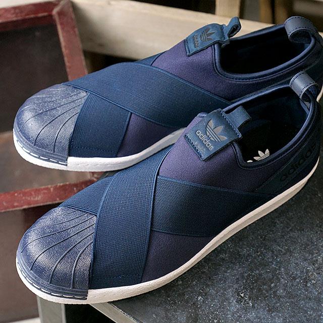 Adidas Originales Estrella Resbalón En Color Azul Marino 3TYJwf0Ayt