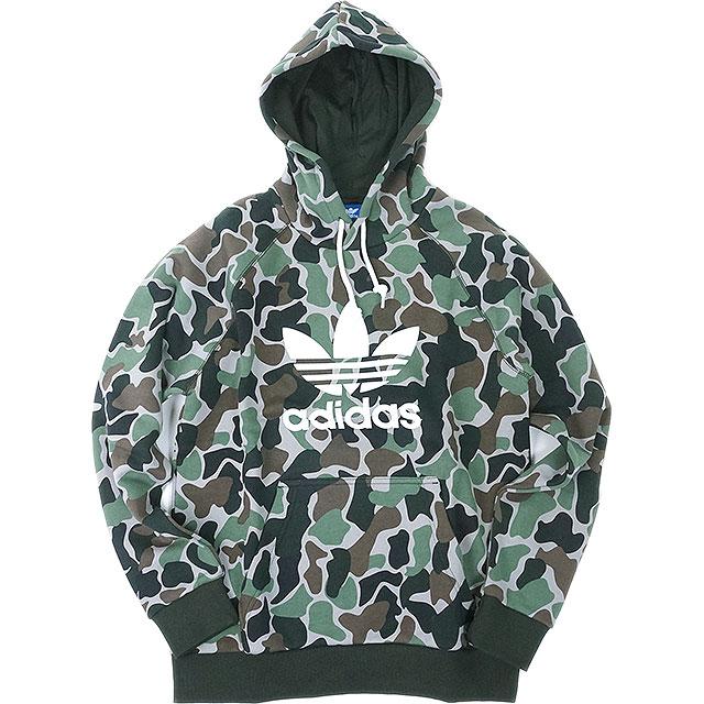 adidas Adidas originals apparel men pullover parka CAMO HOODIE カモフーディーアディダスオリジナルス adidas Originals (BS4952 FW17)