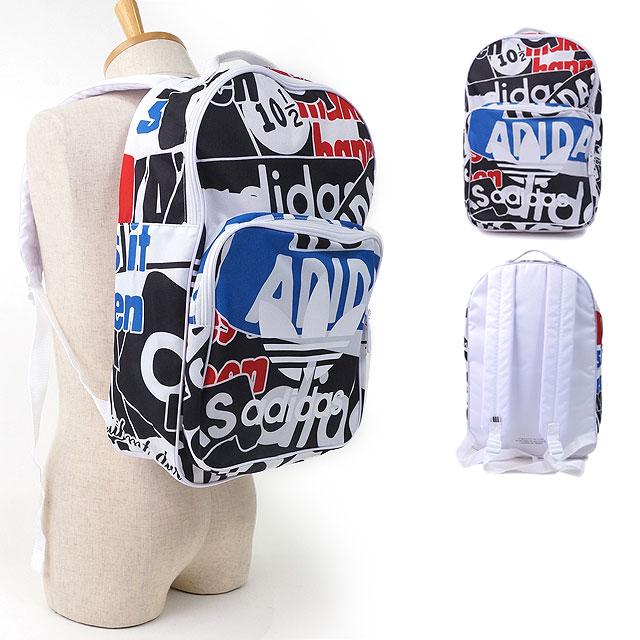 adidas Adidas rucksack CLASSIC BACKPACK TREFOIL GRAPHIC  クラシックバックパックトレフォイルグラフィックデイパックアディダスオリジナルス adidas Originals ... 05e00a3f393fc