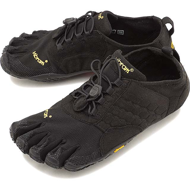 Vibram FiveFingers ビブラムファイブフィンガーズ メンズ MEN TREK ASCENT トレックアセント Black ブラック 5本指シューズ ベアフット 靴 (15M4701)【コンビニ受取対応商品】