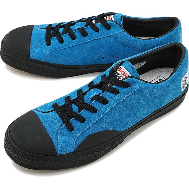 【即納】VISION STREET WEAR ヴィジョン ストリートウェア メンズ スニーカー 靴 SUEDE LO ビジョン スケートシューズ スエード ローカット ブルー (VSW-7352)【コンビニ受取対応商品】