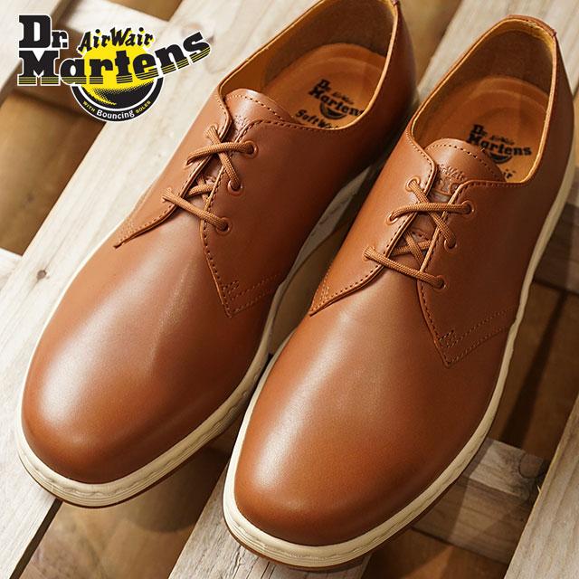 Dr.Martens doctor Martin boots men Lady s CAVENDISH 3EYE SHOES Cavendish 3  hall shoes Oak ten Paris leather shoes (22735228 FW17) f2e836b96