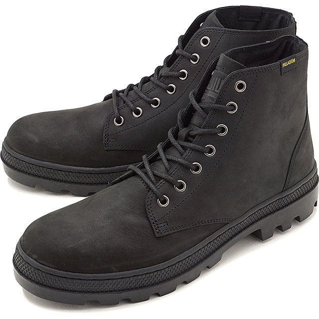 PALLADIUM パラディウム スニーカー 靴 メンズ PALLABOSSE MID パラボス ミッド BLACK/BLACK [05525-060 FW17]