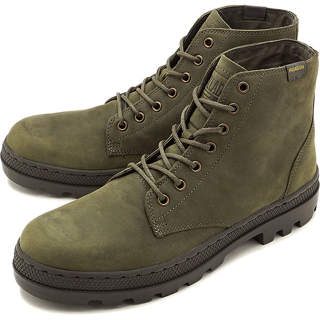 PALLADIUM パラディウム スニーカー 靴 メンズ PALLABOSSE MID パラボス ミッド O.NIGHT/BELUGA [05525-377 FW17]