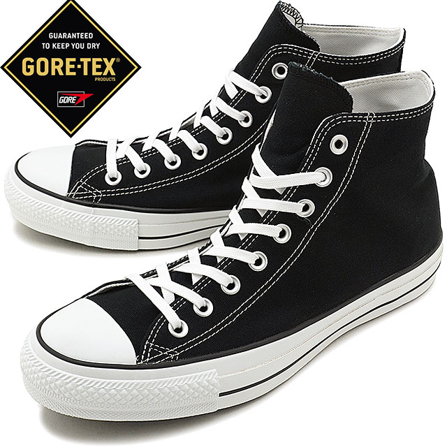 CONVERSE Converse sneakers shoes men Lady's ALL STAR 100 GORE TEX HI all stars 100 Gore Tex higher frequency elimination black [32069711 FW17]