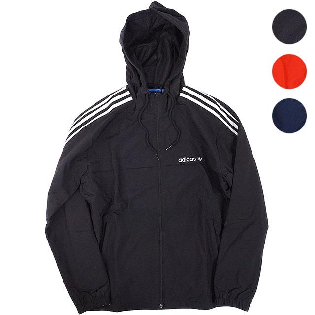 adidas Adidas originals apparel men nylon jacket 3 STRIPES WINDBREAKER 3 ストラプスウィンドブレーカーアディダスオリジナルス adidas Originals (BR6984 BR4134 BR4138 FW17)