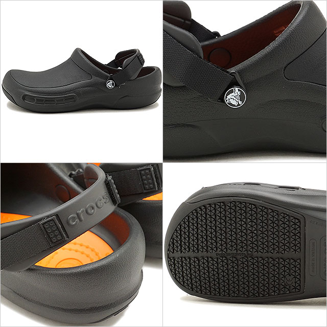 1d925d4a2 CROCS Work clocks work shoes men Lady s Bistro Pro Clog bistro pro clog Black  black shoes (15