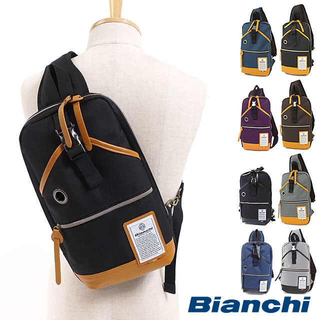 Bianchi Bianchi bag NBTC-10 DUALTEX mens Womens body bag ( one-shoulder  diagonal seat shoulder ) b628324d863b