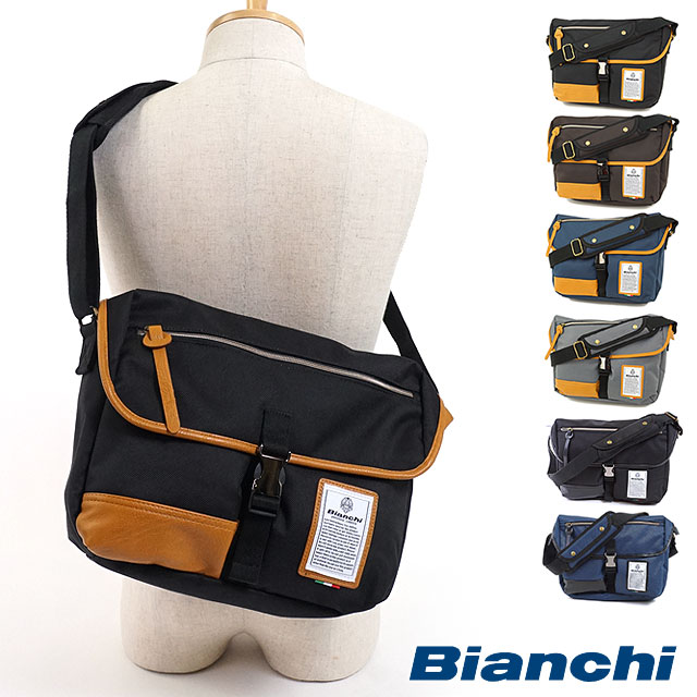 Bianchi Bianchi bag NBTC-03 DUALTEX mens Womens shoulder bag ( one-shoulder  diagonal seat shoulder ) e618ce063147