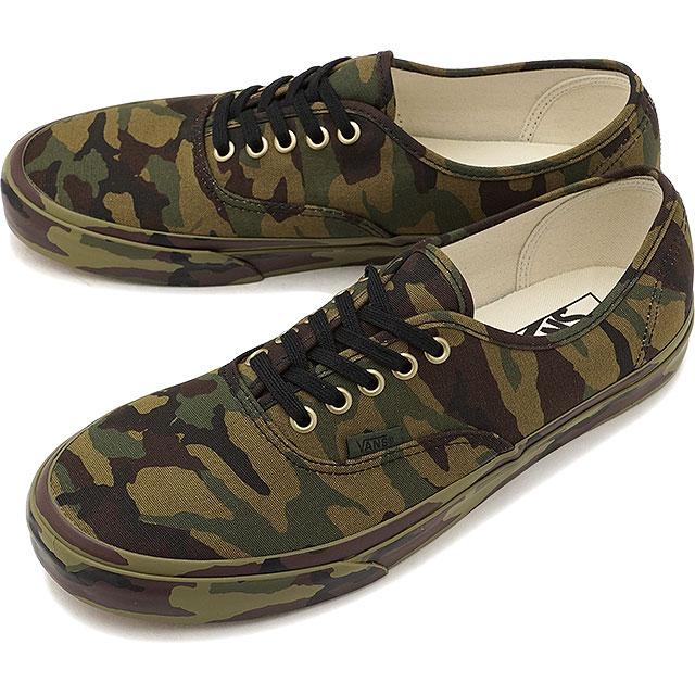 d49eaf26b2 VANS vans sneakers shoes men AUTHENTIC MONO PRINT authentic thing print CLASSIC  CAMO (VN0A38EMOP3 FW17)