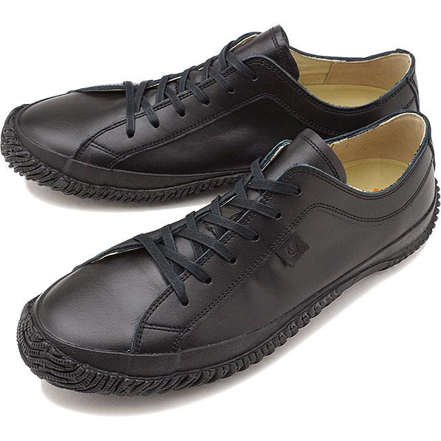 【返品送料無料】SPINGLE MOVE スピングルムーブ メンズ・レディース レザー スニーカー 靴 SPM-652 スピングル ムーヴ Black [SPM652 FW17]