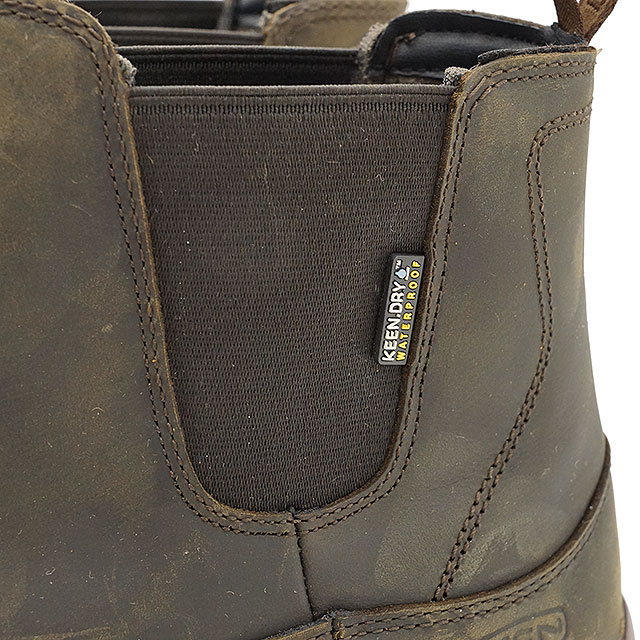 20033200060 KEEN Kean side Gore boots men MENS Anchorage Boot III WP Anchorage boots  three waterproof Dark Earth/Mulch shoes (1017790 FW17)