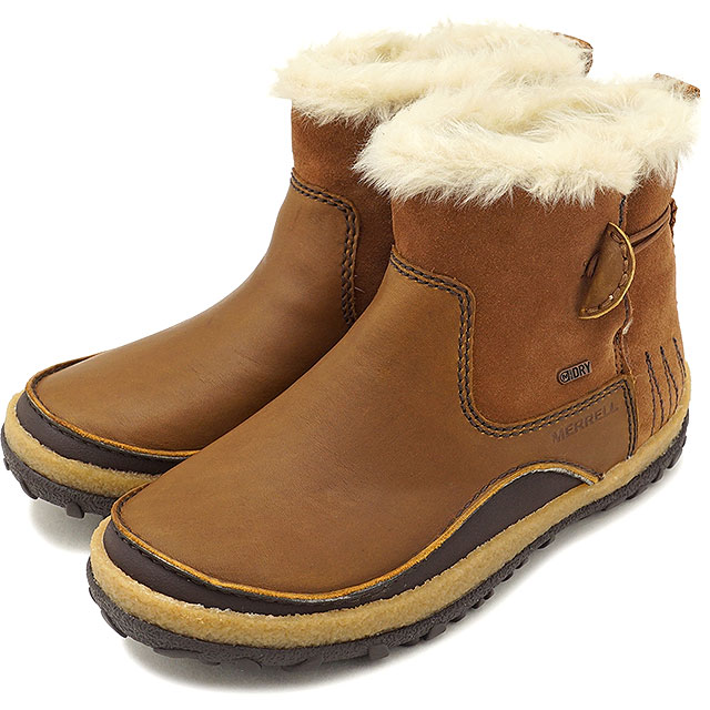 MERRELL メレル レディース WMNS TREMBLANT PULL ON POLAR WATERPROOF トレンブラント プルオン ポーラー ウォータープルーフ MERRELL OAK 靴 [45932 FW17]