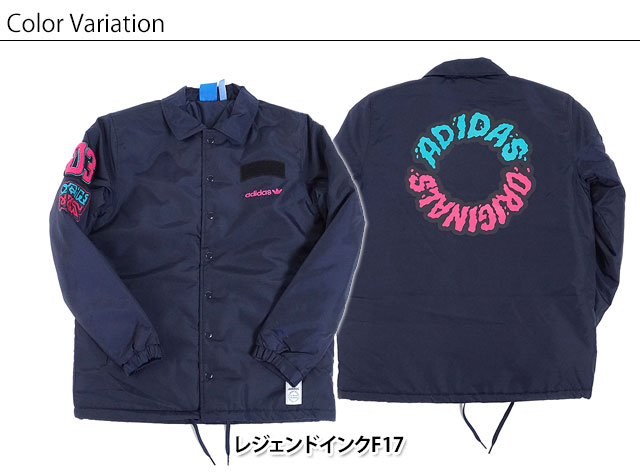 adidas Adidas originals apparel men coach jacket SEOUL COACH JACKET Seoul coach jacket Adidas originals adidas Originals (CD1724 FW17)