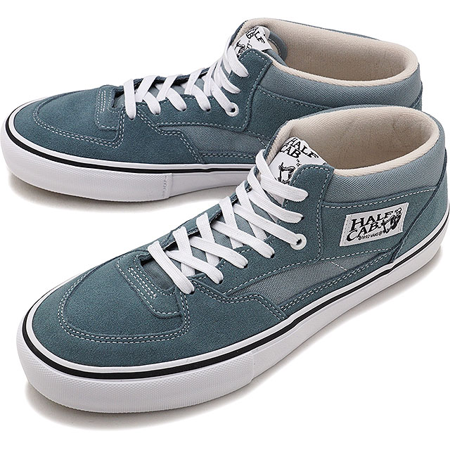 80091a5242be83 VANS vans sneakers shoes men PRO SKATE Pross Kate HALF CAB PRO half cab pro  GOBLIN BLUE WHITE (VN0A38CPQNX FW17)