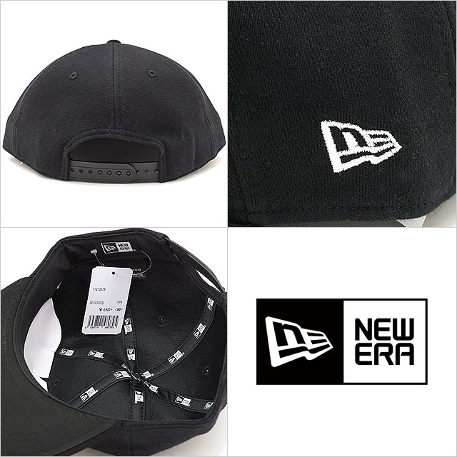 NEWERA new gills cap New Era Bike Cap Sweat sweat shirt motorcycle cap  baseball cap hat black  S white (11474678 FW17) aa2ed8b816c