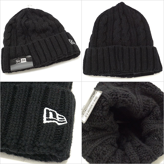 29a71fc35aa NEWERA new gills cap New Era Low Gauge Cuff Knit Wool Blend low gauge caph  knit wool blend knit cap knit hat beanie hat black  S white (11474407 FW17)