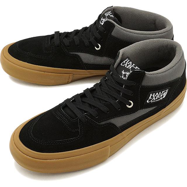 b58a83b16c6527 VANS vans sneakers shoes men PRO SKATE Pross Kate HALF CAB PRO half cab pro  BLACK PEWTER GUM (VN0A38CPALF FW17)