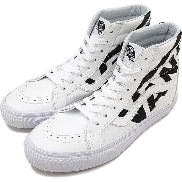 5ebb4e2921 VANS vans sneakers shoes men Lady s SK8-HI REISSUE skating high Lee Shu  (スケハイ) TRUE WHITE BLACK (VN0A2XSBQW8 FW17)