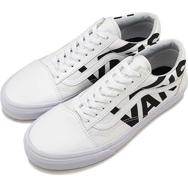 9bf26d9e08b4 VANS vans sneakers shoes men Lady s OLD SKOOL old school TRUE WHITE BLACK  (VN0A38G1QW8 FW17)