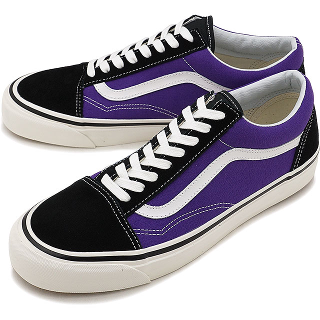 6e141fd1d80fe1 VANS ANAHEIM FACTORY vans Anaheim factory sneakers shoes men OLD SKOOL 36  DX old school BLACK OG BRIGHT PURPLE (VN0A38G2QWA FW17)