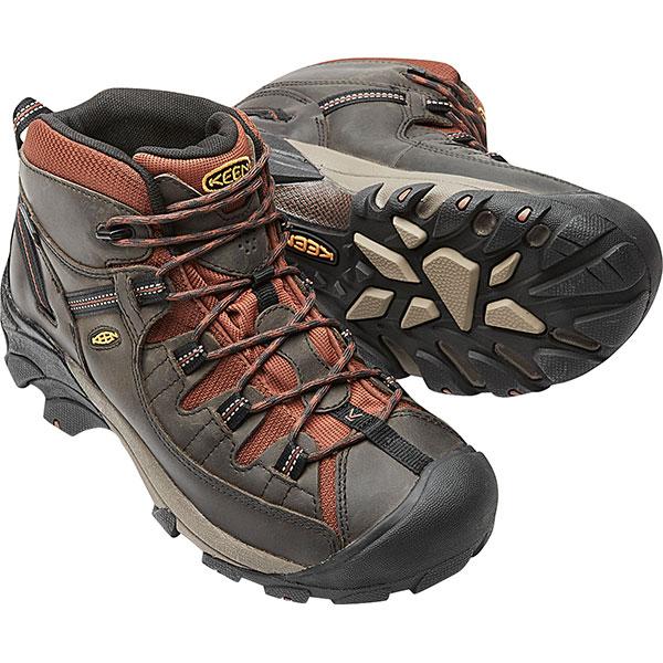 174682eca17 KEEN Kean trekking shoes men MENS Targhee II Mid WP Targhee two mid  waterproof Raven/ ...