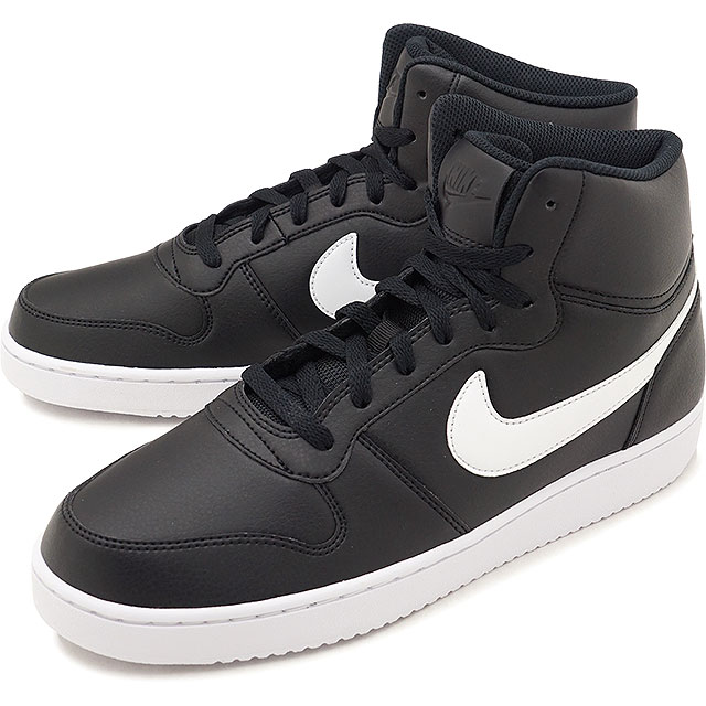 NIKE Nike men sneakers shoes EBERNON MID SL Eve non mid SL black   white  (AQ1772-001 FW18) f8eb249c76