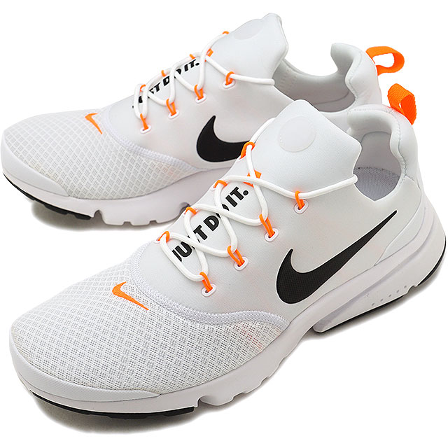 huge selection of 1073c 690ec NIKE Nike men sneakers shoes PRESTO FLY JDI presto fly JDI white   black  (AQ9688-100 FW18)