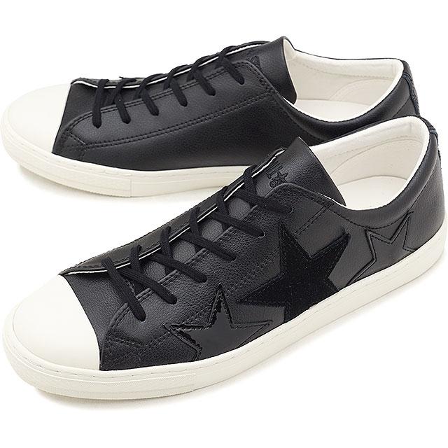 【即納】CONVERSE コンバース オールスター クップ トリオスター ローカット スニーカー 靴 ALL STAR COUPE TRIOSTAR OX ブラック (32149071 FW18)【コンビニ受取対応商品】