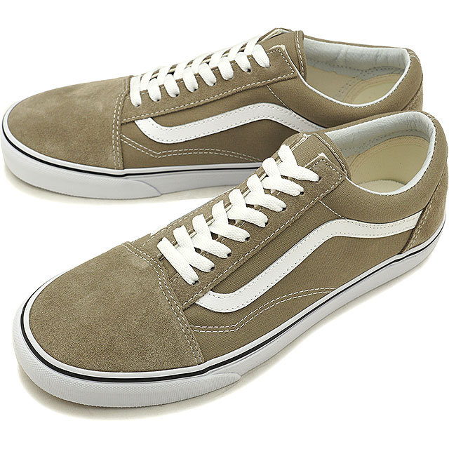 930ff5b1606 VANS station wagons OLD SKOOL old school vans sneakers shoes DESERT TAUPE TRUE  WHITE (VN0A38G1U63 FW18)