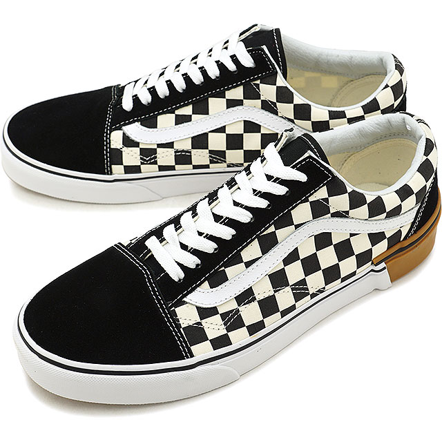 aa6b9b8f53a VANS station wagons GUM BLOCK gum block OLD SKOOL old school vans sneakers  shoes CHECKERBOARD (VN0A38G1U58 FW18)
