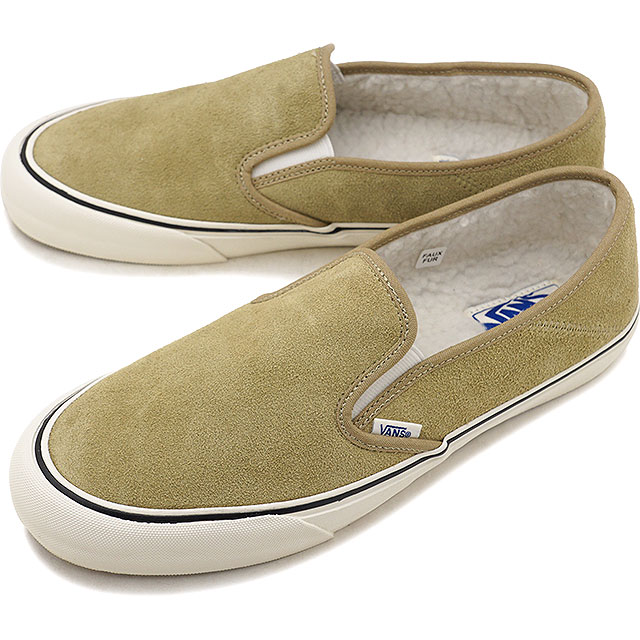 mischief: VANS station wagons boa ARA inning SLIP-ON SF slip-on surf slip-ons  vans sneakers shoes FLEECE CORNSTALK/MARSHMALLOW (VN0A3MVDUD3 FW18) |  Rakuten ...