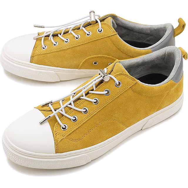 【5%OFFクーポン対象品】スラック SLACK クルード プレミアム スエードレザー CLUDE PREMIUM SUEDE スニーカー 靴 メンズ・レディース MUSTARD/WHITE [SL1401-388 FW18]